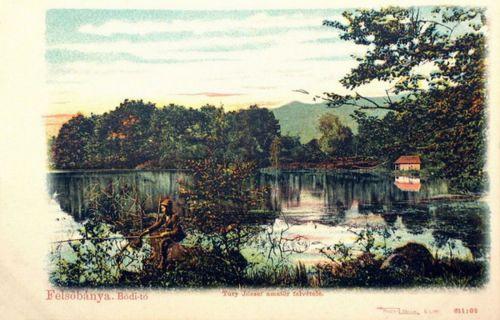 Felsőbánya:Bódi tó.1901