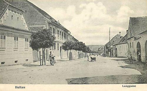 Nagydisznód:Hosszú utca.1907
