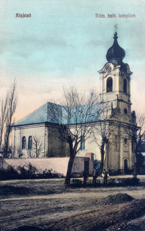Kisjenő:katolikus templom.1909