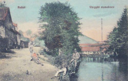 Kudsir:vasgyári vizmedence.1909