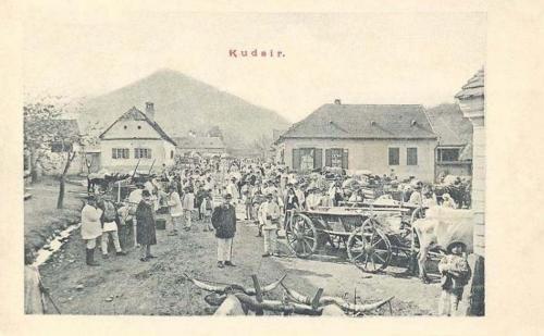 Kudzsir-Kudschir-Cugir:heti vásár.1903