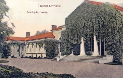 Lorántfalva-Lovrin:báró Lipthay kastély.1908