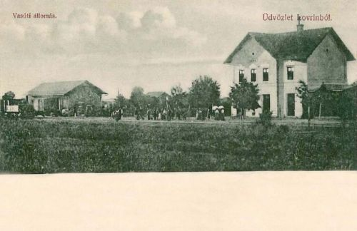 Lorántfalva-Lovrin:vasútállomás.1902