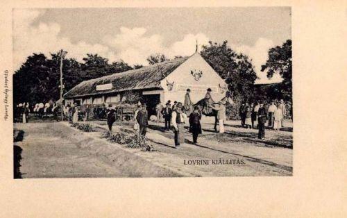 Lorántfalva-Lovrin:Országos Mezőgazdasági Kiállitás.1905