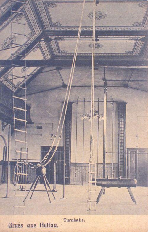 Nagydisznód:evangélikus tornaterem belseje.1907