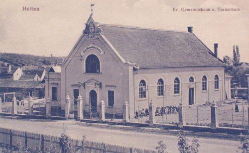 Nagydisznód:evangélikus Tonracsarnok(épült 1904-ben).1912