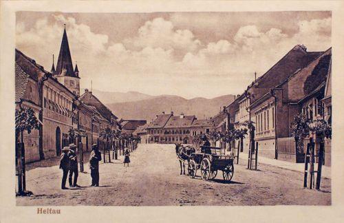 Nagydisznód:főtér.1912