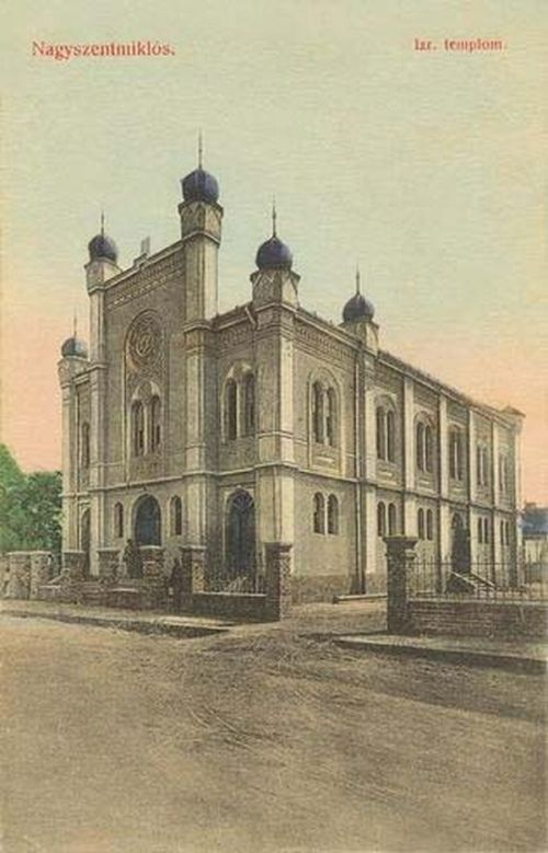 Nagyszentmiklós:izraelita templom.1909