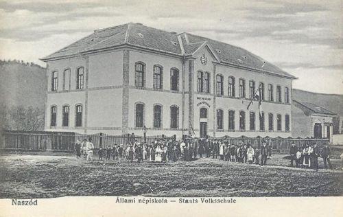 Naszód-Nussdorf-Nasaud:Magyar Királyi. Állami Népiskola 1907