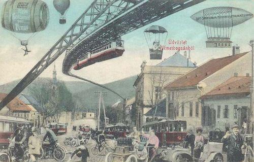 Németbogsán:a jövőben,100 év múlva.1912