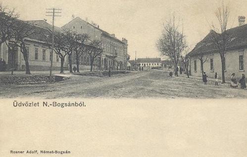 Németbogsán:főtér.1903