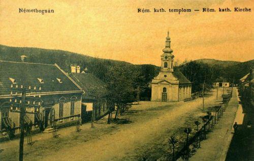 Németbogsán:katolikus templom.1911