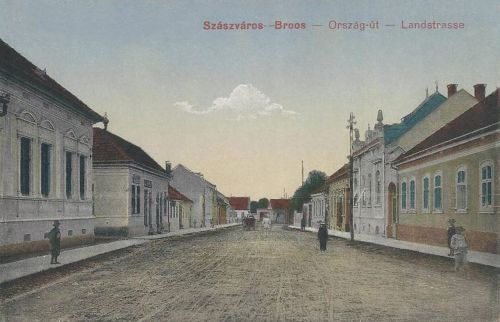 Szászváros:Ország út.1916