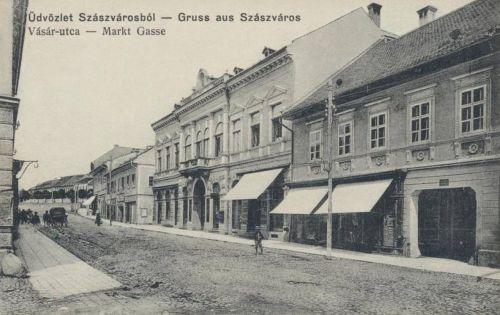 Szászváros:Vásár utca.1912