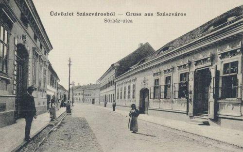 Szászváros:Sörház utca.1912