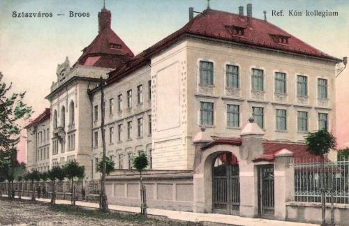 Szászváros:református kun kollégium.1915
