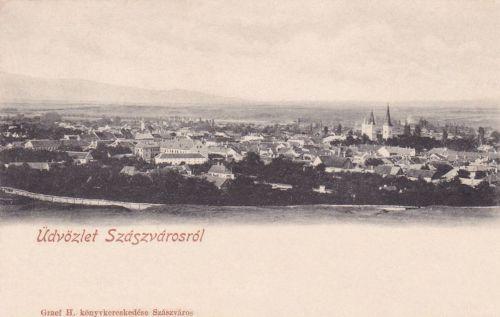 Szászváros:látkép.1903