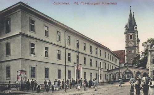 Szászváros:református kun kollégium internátusa.1912