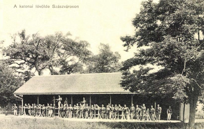 Szászváros:katonai lövölde,1912.