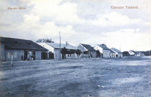 Tenke:piac téri részlet.1911