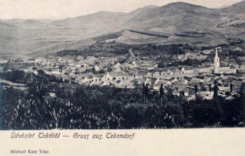 Teke-Tekendorf-Teaca:látkép.1903