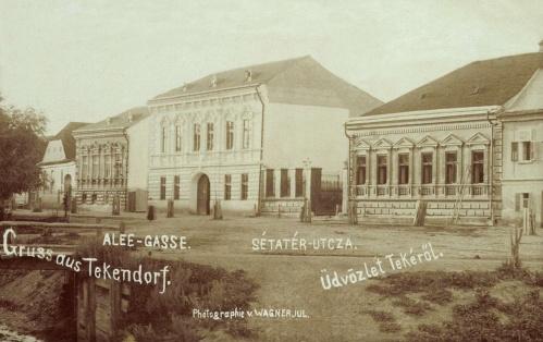 Teke:sétatér utca,1903-ban.