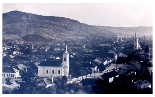 Teke:református-katolikus,evangélikus és ortodox templomok.1943