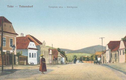 Teke:templom utca.1911