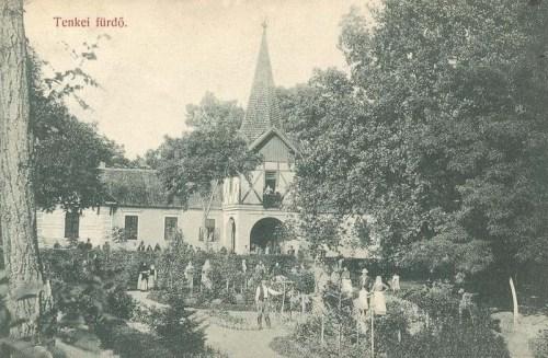 Tenke-fürdő:főbejárat.1912