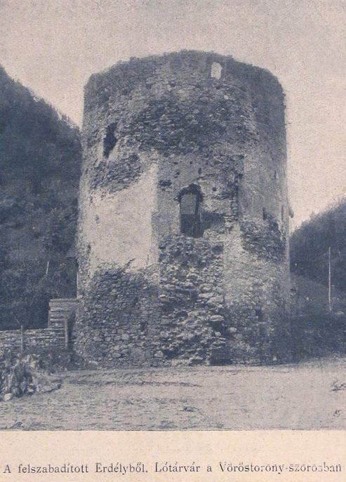 Vöröstorony:Lótárvár a felszabaditott Erdélyből.1917