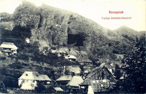 Verespatak,aranybánya 1908