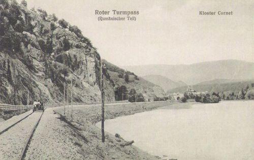 Vöröstorony:román oldal a kolostorral.1915