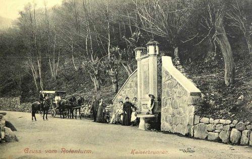 Vöröstorony:császár kút.1912