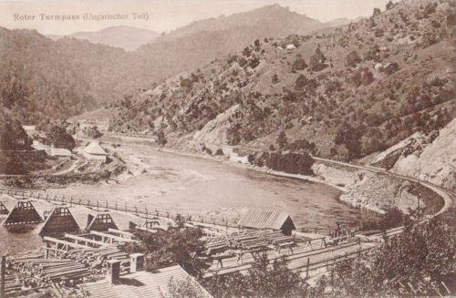 Vöröstorony:magyar oldal,látkép a hiddal.1912