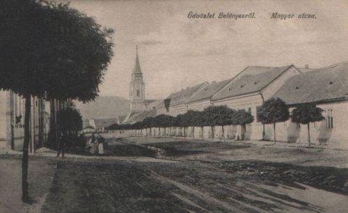 Belényes:Magyar utca.1912