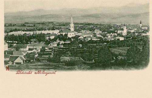 Belényes-Binsch-Beius:látkép.1898