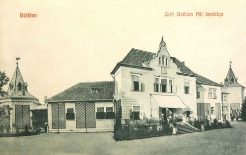 Bethlen:gróf Bethlen Pál kastélya.1908