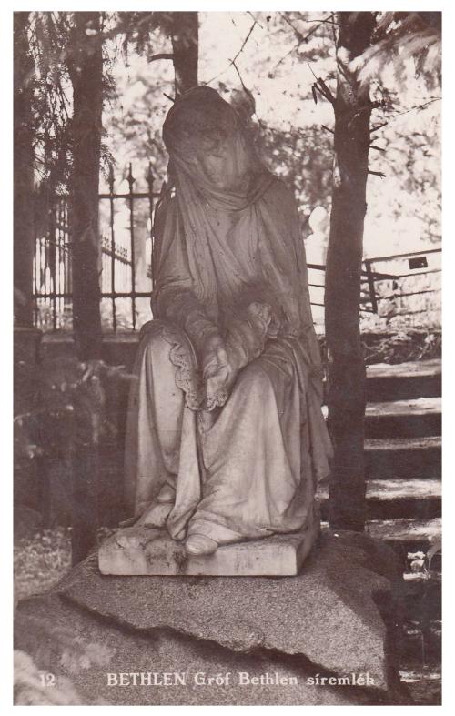 Bethlen:Bethlen Ida siremléke.1940