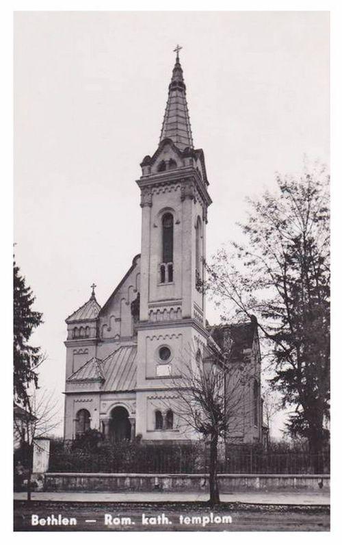 Bethlen:katolikus templom.1943