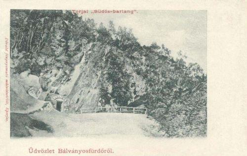 Bálványos:torjai büdös barlang.1903