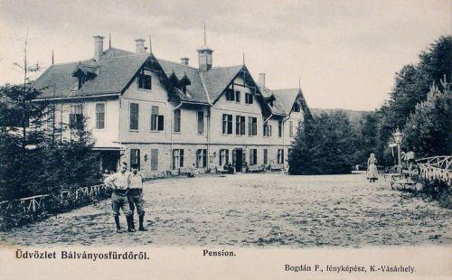 Bálványos-Baile Balvanyos-Bad Götzenburg:panzió.1900