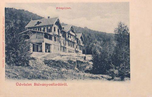 Bálványosfürdő:Főépület.1902