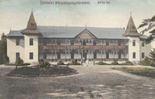 Bikszád:Berta lak.1909