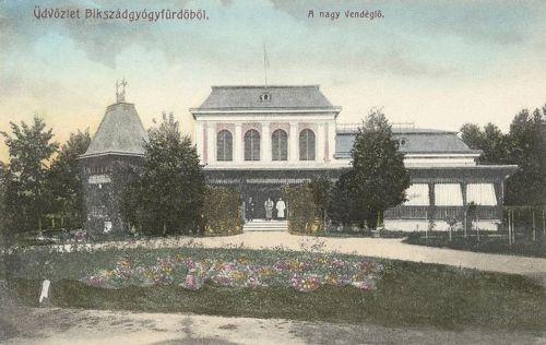 Bikszádgyógyfürdő:Nagy Vendéglő.1908