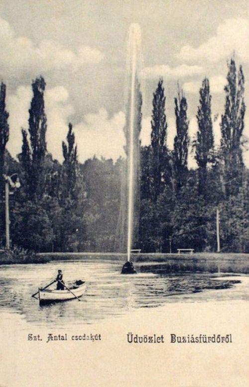 Buziásfürdő:Szent Antal csodakút.1904