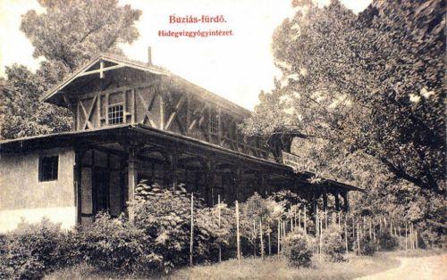 Buziásfürdő:Hidegviz Gyógyintézet.1909
