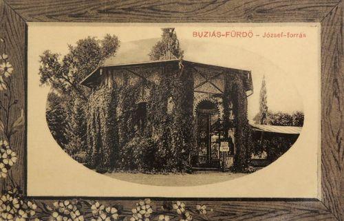 Buziás:József forrás.1912