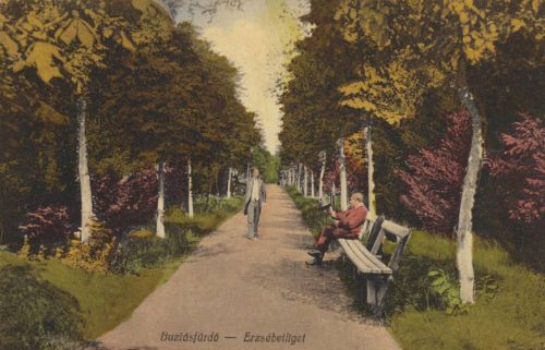 Buziás:Erzsébet liget.1915