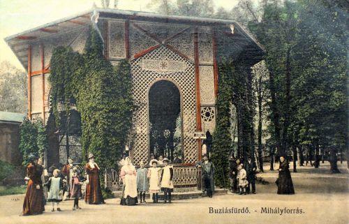Buziásfürdő:Mihály forrás.1910