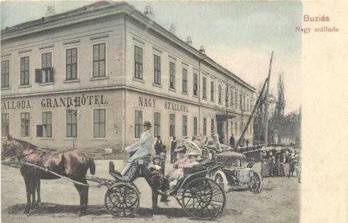 Buziásfürdő:Nagy szálloda.1903
